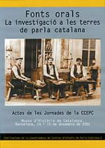 Fonts orals. La investigació a les terres de parla catalana