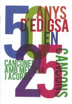 50 anys d'EDIGSA en 25 cançons
