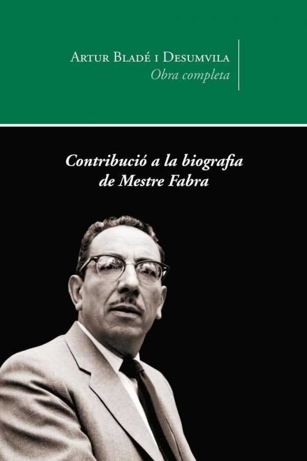 Contribució a la biografia de Mestre Fabra
