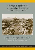 Recursos i territori: perspectiva històrica i nous equilibris