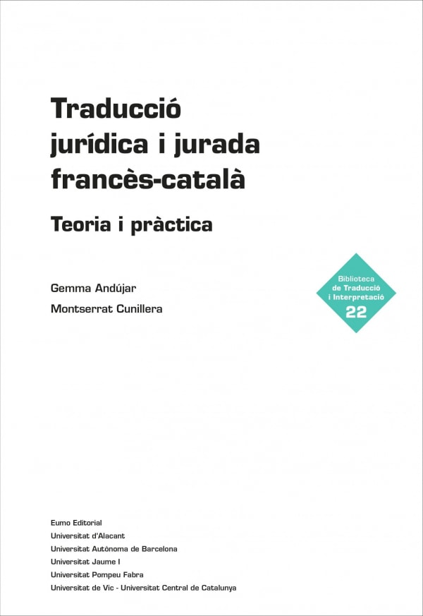 Traducció jurídica i jurada francès-català