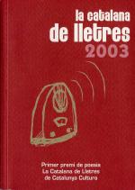 La Catalana de Lletres 2003