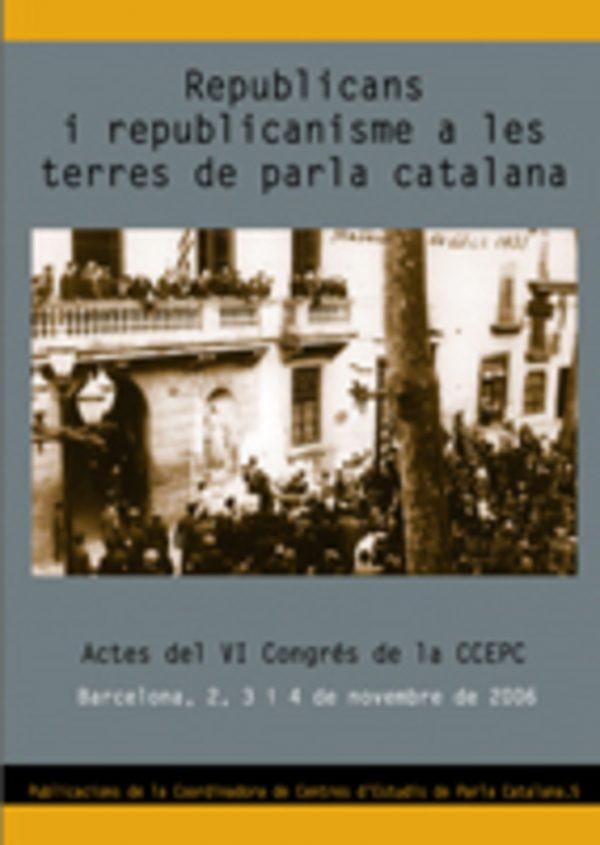 Republicans i republicanisme a les terres de parla catalana